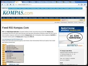KOMPAS.com - klik copy link address