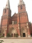 katedral dari pintu gerbang