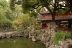yu garden kolam dan paviliun