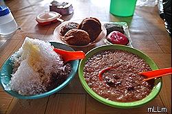 Es Kacang, Apang, Kue Ku