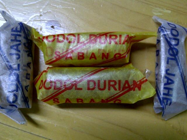 Dodol Duren dan Dodol Jahe
