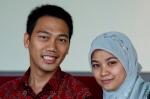 pasangan blogger Didot - Sari