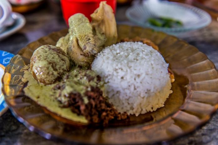 Manggar alias bunga kelapa