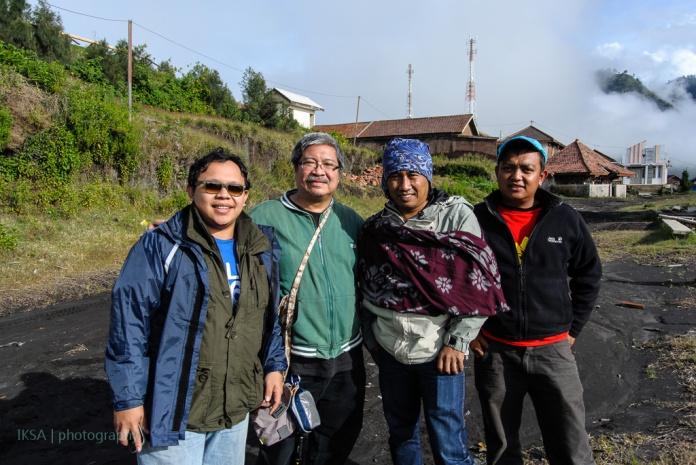 Bersama @aksept, Mas Monggang dan Mas Patel