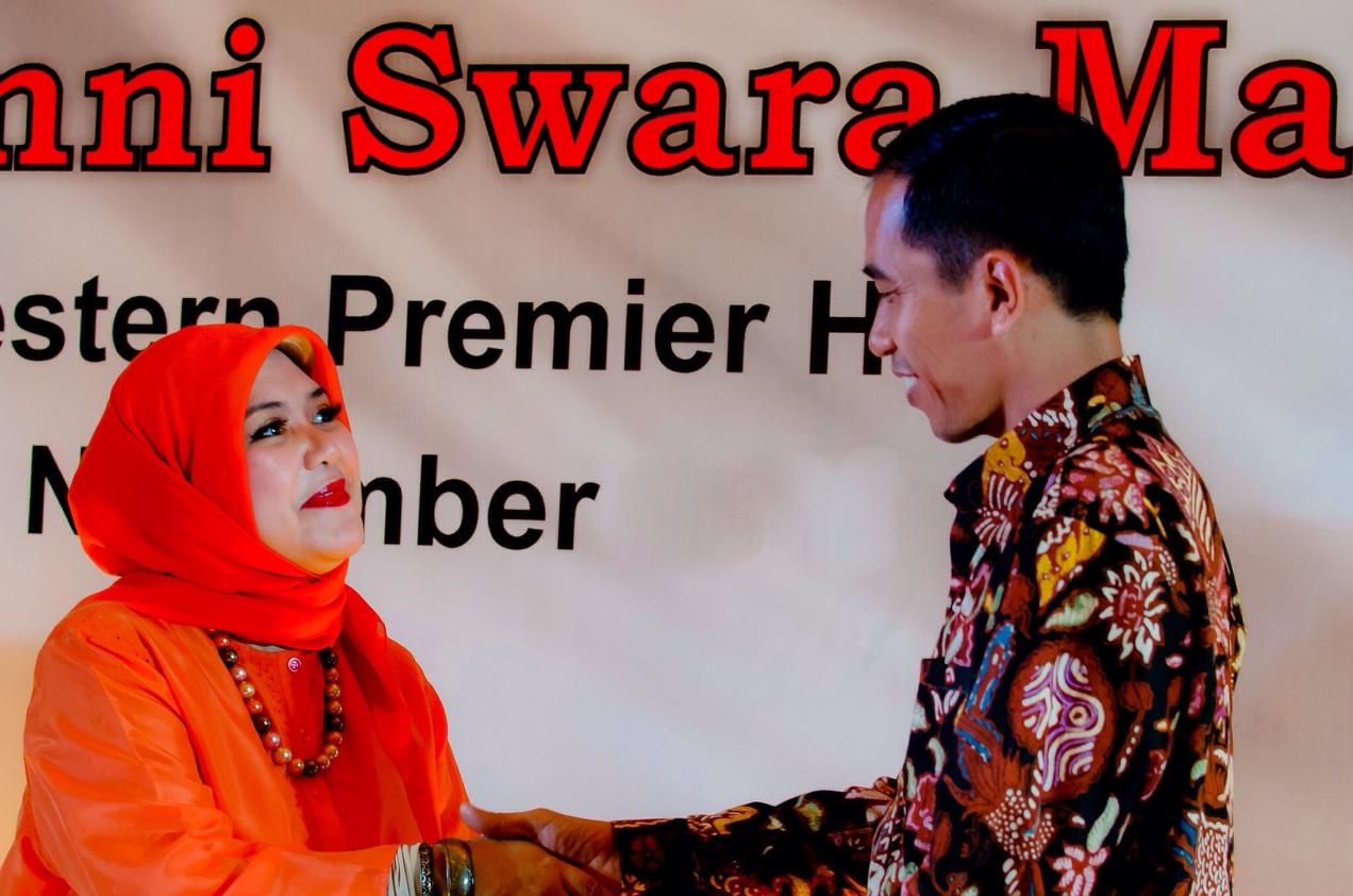Swara Maharddhika - Jokowi