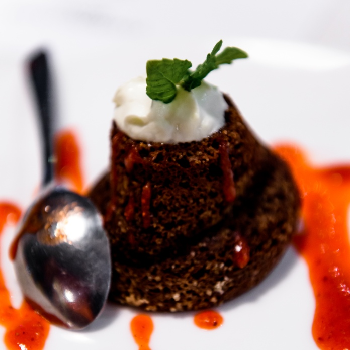 L'Osteria Choolate Cake