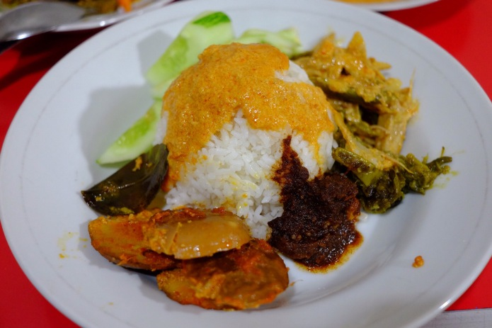Nasi, Kuah, Sambel, Jengkol